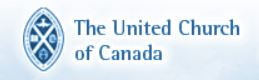 United Church of Canada logo and graphic